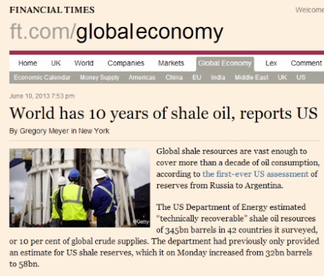 FT Shale Oil Clipping